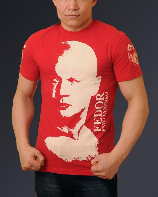 Футболка Федор Емельяненко, красная