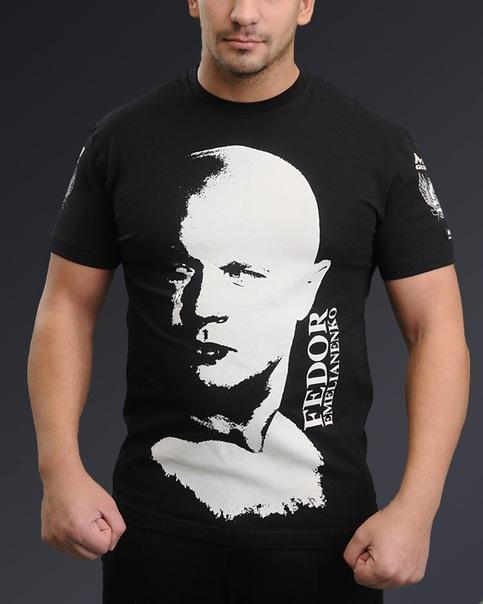 Футболка Федор Емельяненко черная